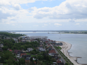 View down Kieler Forde
