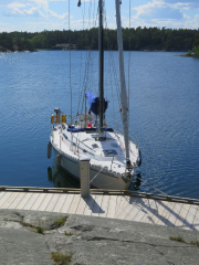 Moored in Paradise