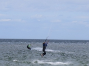Kitesurfing at Laboe