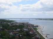 View down Kieler Forde