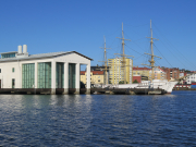 View of the Maritime Museum