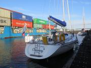 Locking into the Kiel Canal