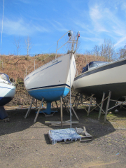 Fitting out at Ardoran