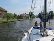 Heading through to Braasemermeer