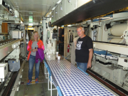 Ric and Fiona inside the Neptun