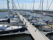 CA Rally boats gathering in Ystad