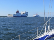 Leaving Karlskrona