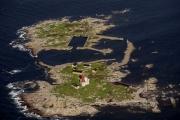 Aerial view - Utklippan