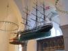 Ship model in Hasle Church
