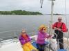 In the channel approaching Karlskrona