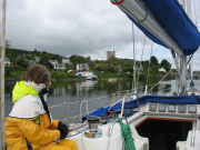 Entering East Loch Tarbert
