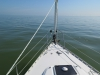 Heading across the Ijsselemeer
