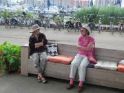Anne and Adie in Hoorn