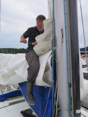Packing up for winter at Oxelosund
