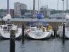 Moored in Durstenbrook marina