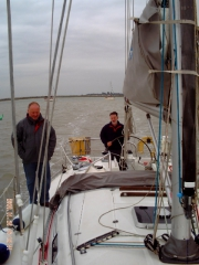 Local sailing around Blackwater