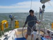 Heading across Ijsselmeer