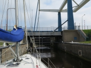 Locking into the Waddensee