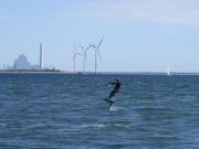 Kitesurfer in Ishoy