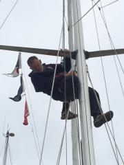 Checking aloft