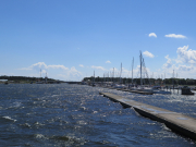 Falsterbo canal entrance