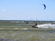 Kitesurfers at Falsterbo