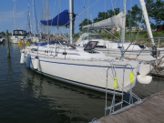 Moored in Ishoy marina