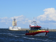 Lifeboat out at Falsterbo