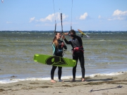 Kitesurfers at Falsterbo