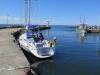 Moored in Kyrkbacken harbour