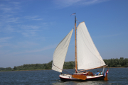 Sailing off Willemstad