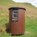 Toilet at Kerrera tea room