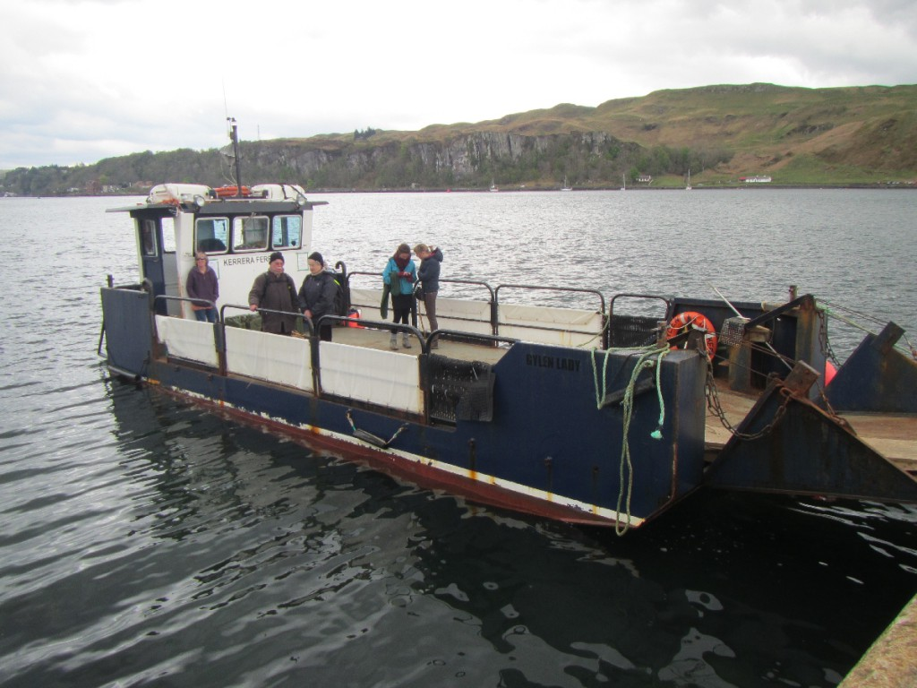 Kerrera ferry