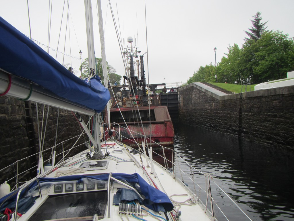 In Corpach double lock