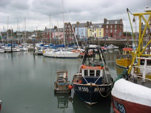 Charmary in Arbroath Harbour
