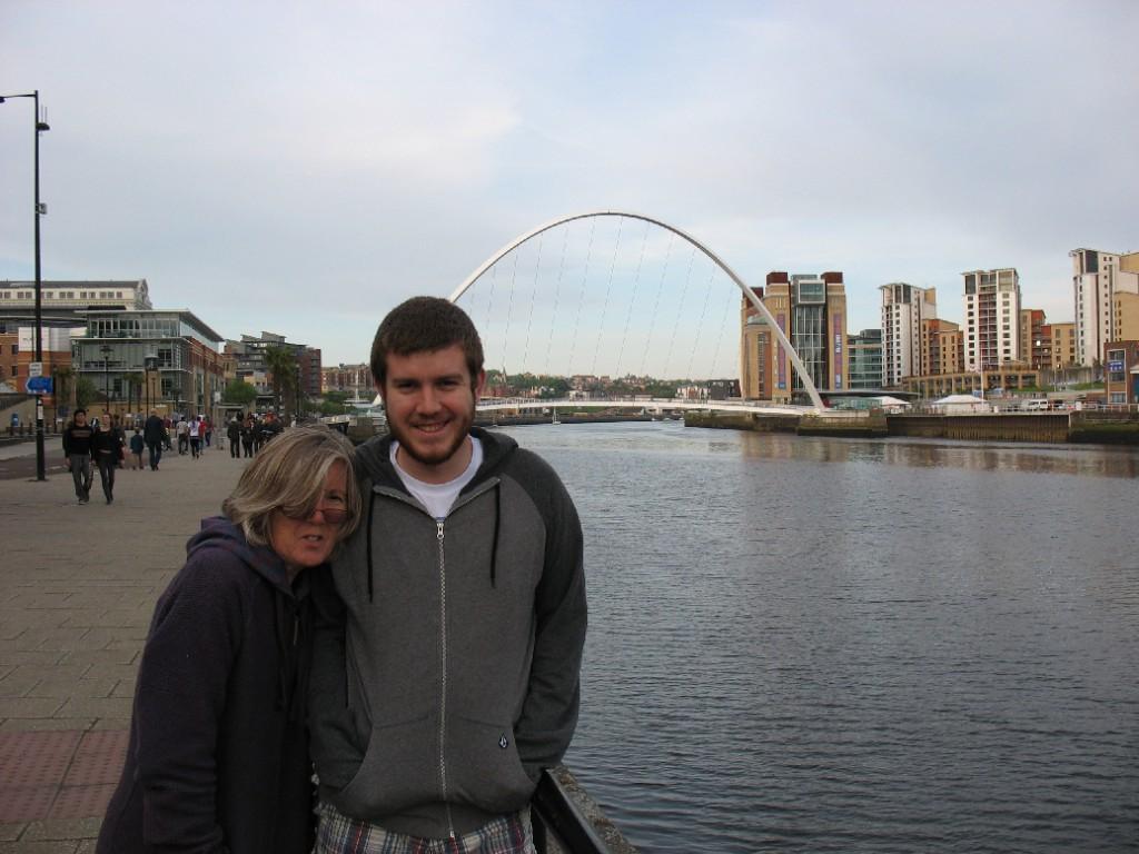Anne and Alex in Newcastle
