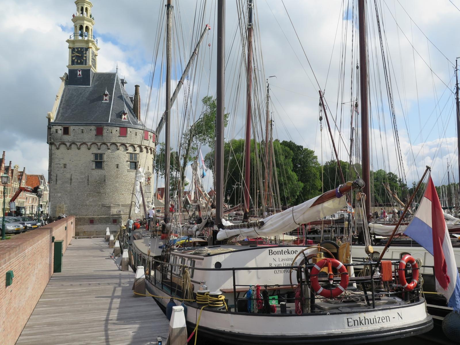 Hoorn - town harbour